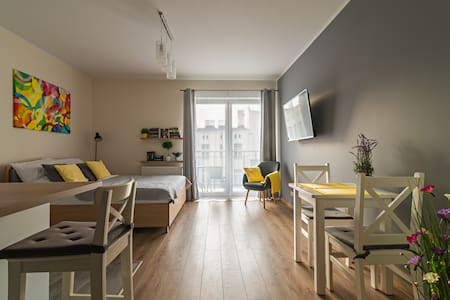 Apartament Więckowski w Centrum Łodzi
