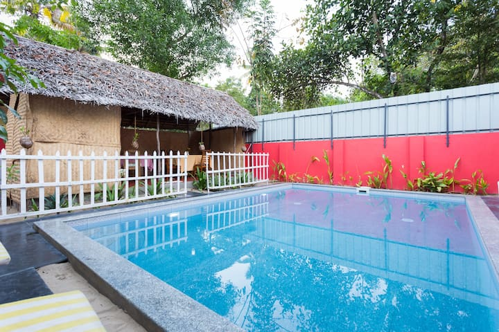 A Lovely Homestay in Marari with Pool - Alappuzha - Bed & Breakfast