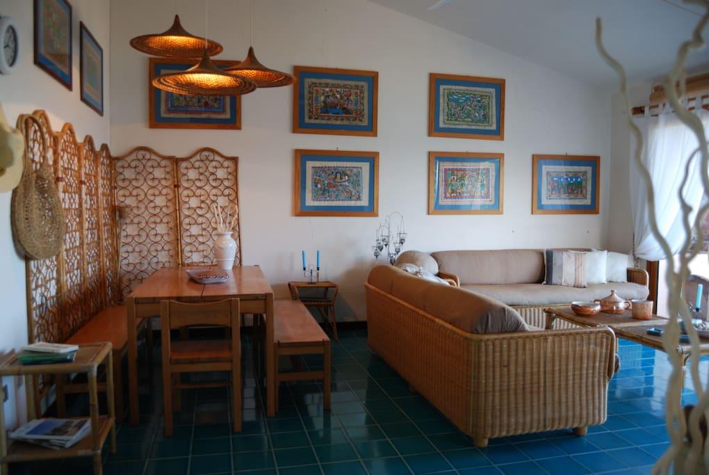 living room -salotto pranzo