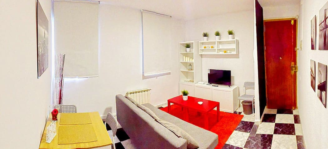 Beautiful Flat @ Madrid Downtown + Free Breakfast - Madrid - Byt