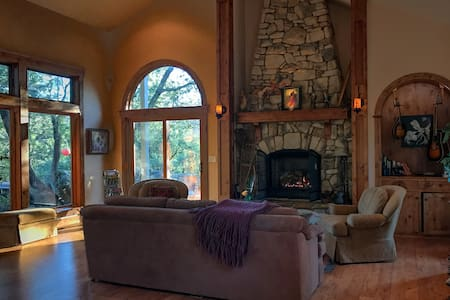 Completely Private Gated Retreat - Nevada City - Dům