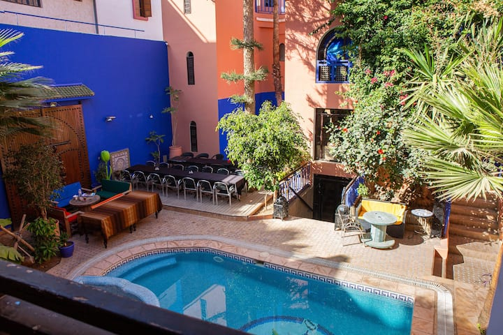 The traditional Riad Imourane
