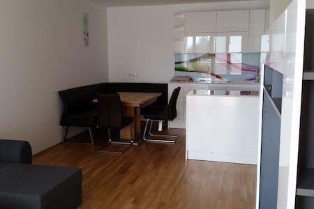 Neue Wohnung mit TOP- Ausstattung, Straßenbahn, TG - Leonding - Apartament