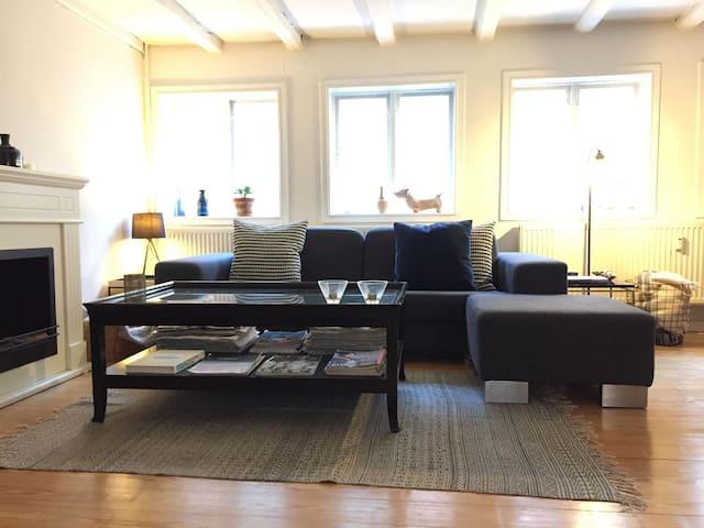 Luxurious, bright, modernized 18thcentury duplex