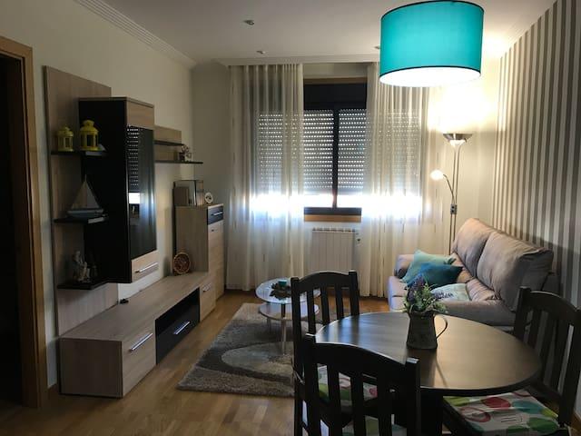 Apartamento en el centro de O Rosal