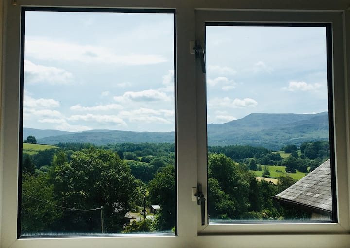 Coedlan - with superb views of Cader Idris.