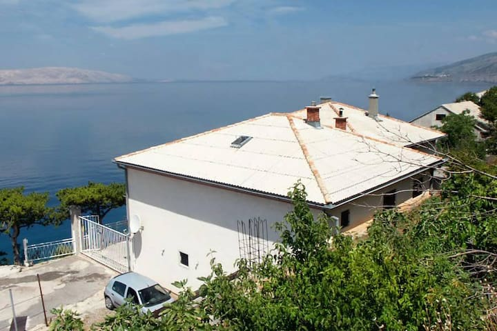 Two bedroom apartment with terrace and sea view Sveti Juraj, Senj (A-2399-b) - Sveti Juraj - Leilighet