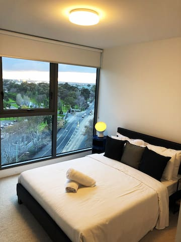 Great view room with private bathroom
