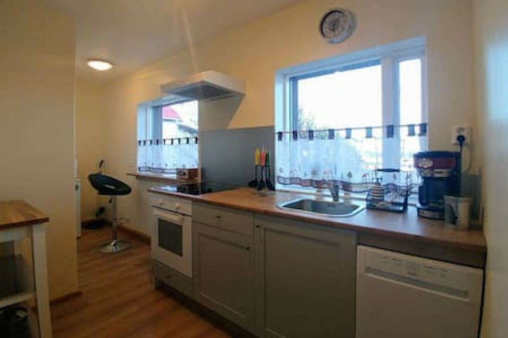 Fully equipt shared kitchen