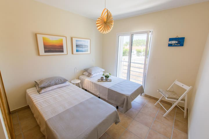Room 2 - Two single beds