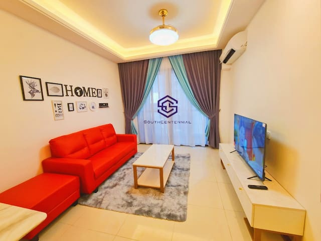 🌈Luxurious Seaview 2B @ R&F by SC Homestay⛱