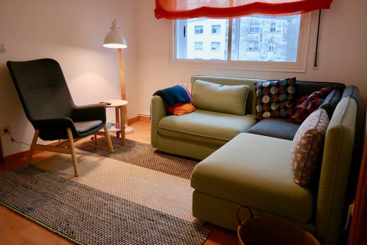 Apartamento acogedor y central