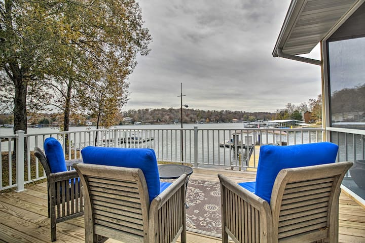 NEW! Waterfront Oasis w/Dock on Lake of the Ozarks