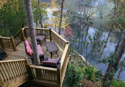Tranquility At River's Bend - Ellijay