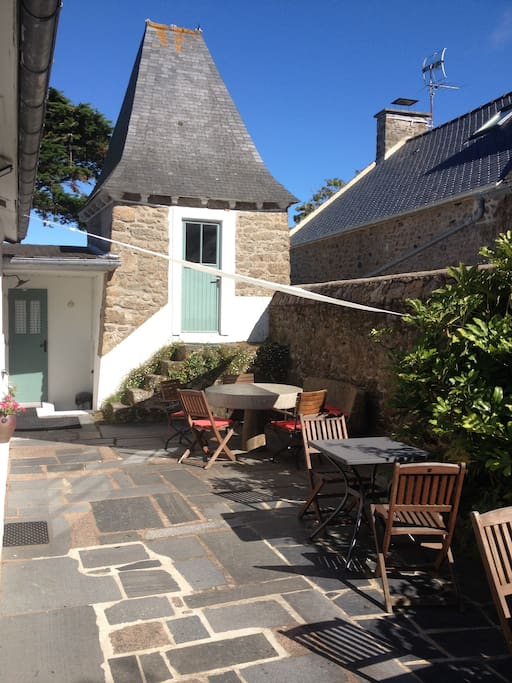 L 39 ermitage au charme atypique maisons louer st malo for Location maison atypique