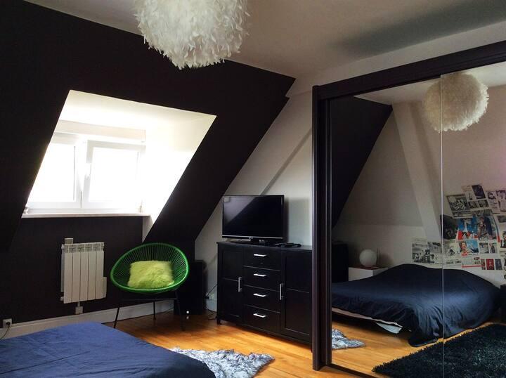 Chambre cosy tout confort Sarreguemines Centre