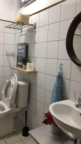 toilet at 1st floor