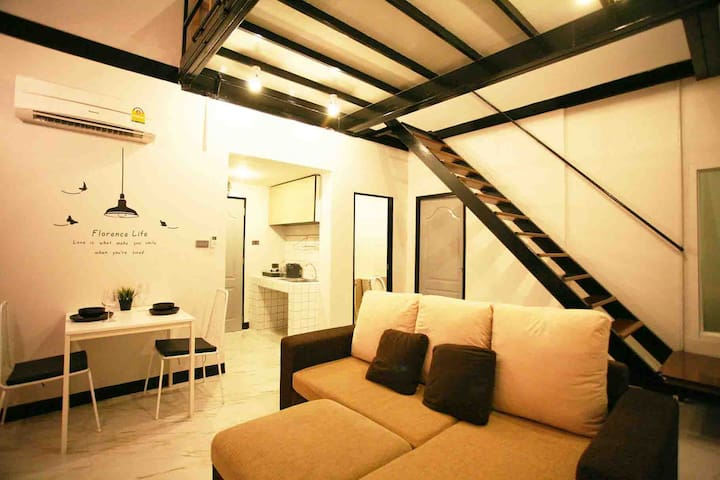 Loft Room near DMK Airport - Pak Kret - Ev
