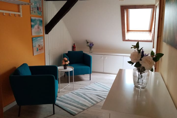 Roof Apartment in Burg Family Lounge