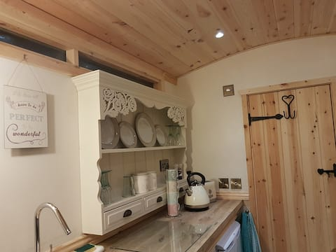 Waterside Shepherds Hut(Glamping Near York)