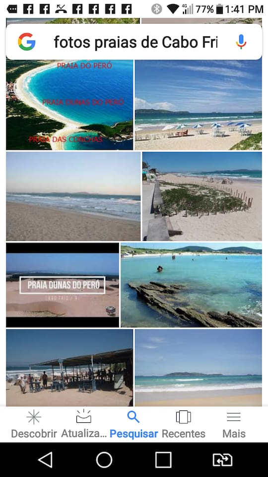 Venha relaxar e passear com sua familia nas praias de cabo frio e bem perto das mais de 10 praias em Buzios