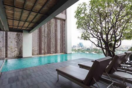 Hip Luxury Duplex~Close to BTS+City center - Bangkok - Apartment