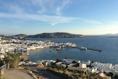 P.S.  THE VIEW  Deluxe Apartment in Mykonos Town