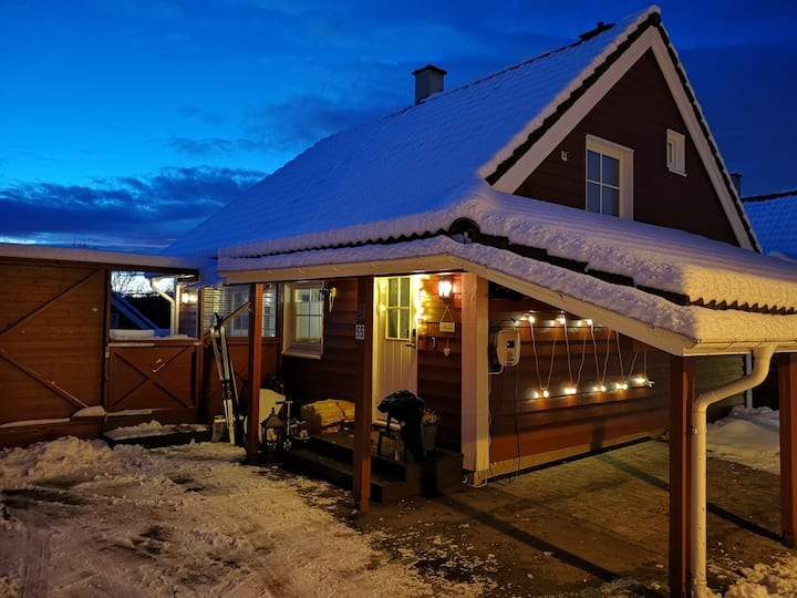 House in Oppegard 26 min by train to Oslo