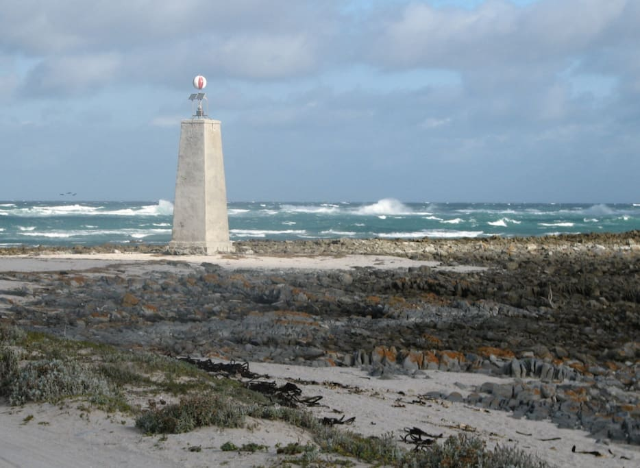 This is the Beacon. A very quite spot that can either be visited by foot of by 4X4
