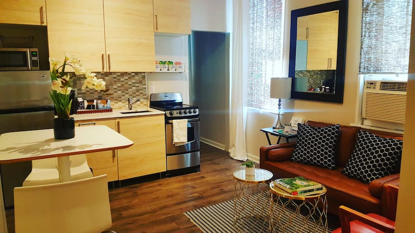 Modern Chic | 1 bedroom Apartment |Temple Hospital