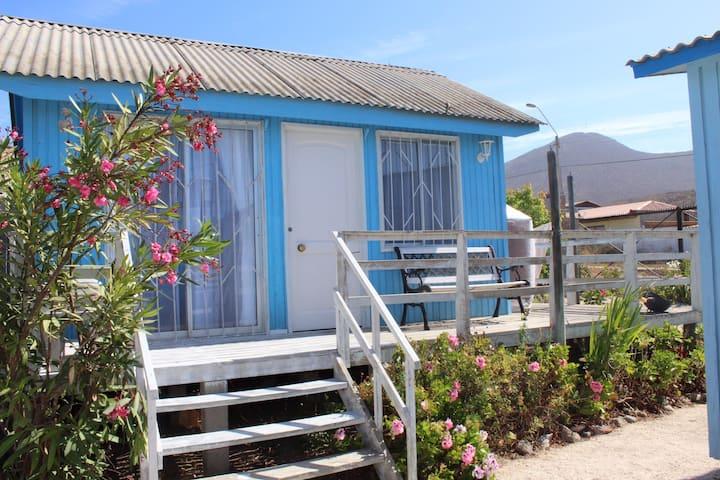 Cabaña pequeña Villa Pacifico, Guanaqueros, Chile