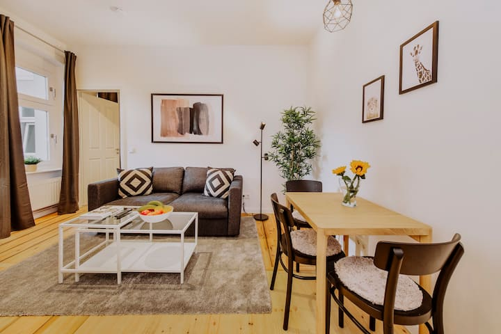 Renovated 2 Room Apartment in Historic Building