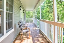 Sip a cold beverage on the front porch as you listing to the birds chirping.