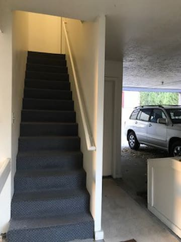 must be able to climb stairs to 2nd floor