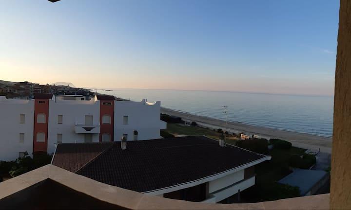 Appartamento direttamente sul mare