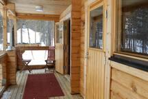 Sauna and one bedroom terrace