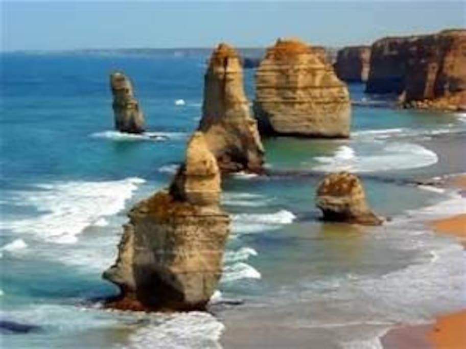 The 12 apostles are only 1 and half hours away