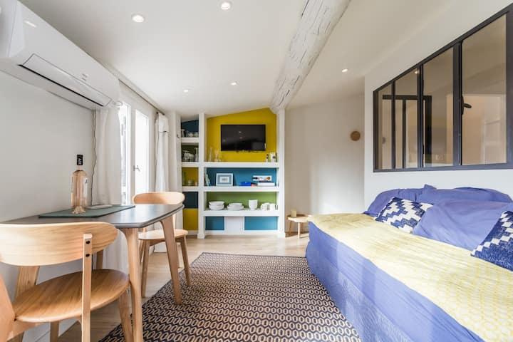 Charmant petit appartement dans centre historique