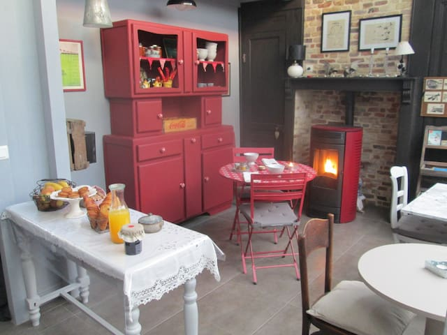"""chambre """"galets"""" - Dieppe - Bed & Breakfast"""