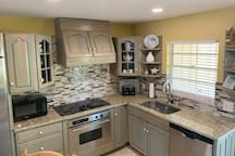 Full kitchen withe everything included