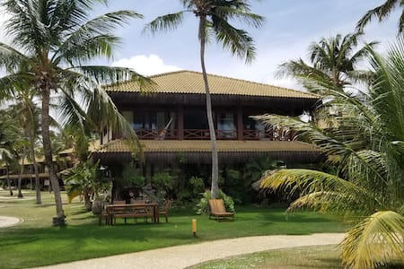 Flecheiras magical bungalow at the Eco Residence.