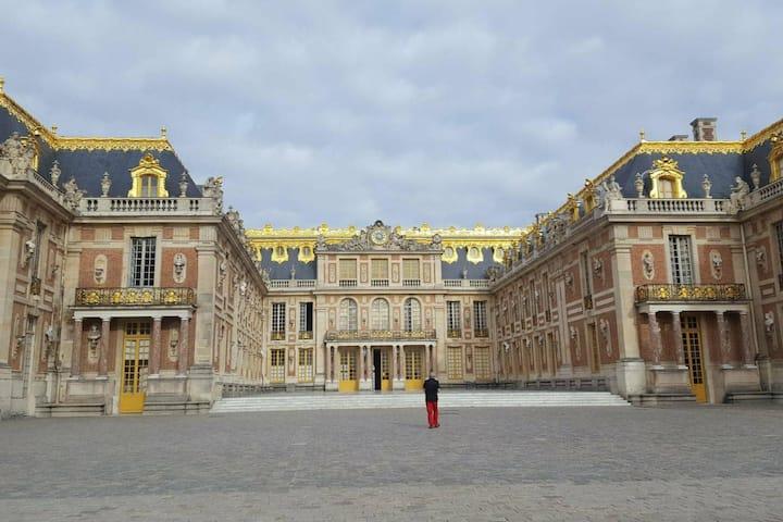 2 pièces au pied du Château de Versailles