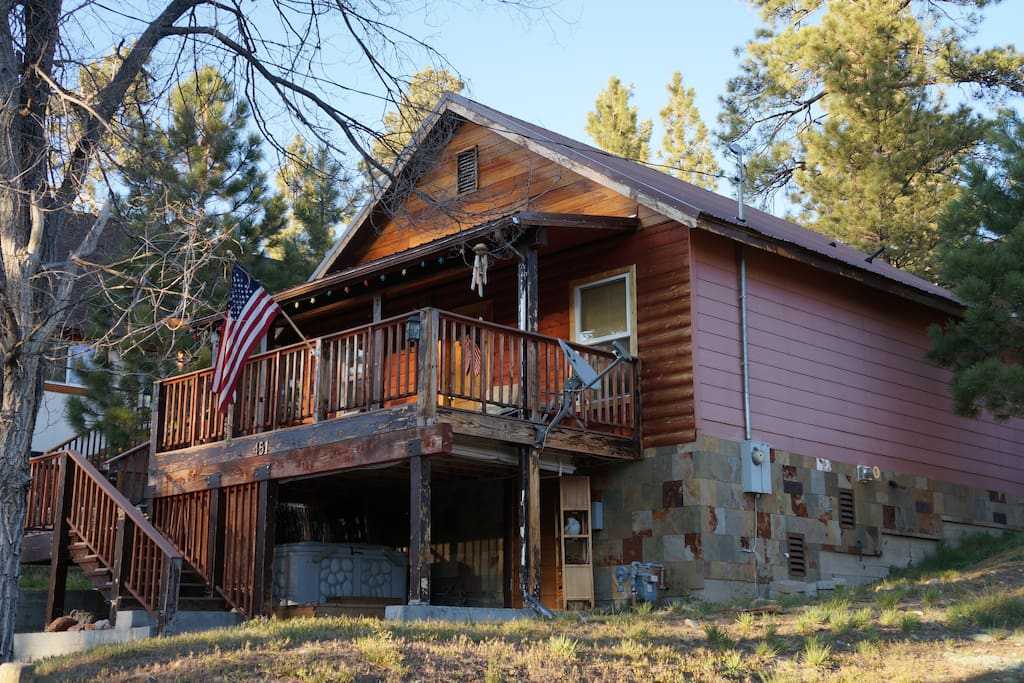 Camp neal cabin cabins for rent in big bear lake Big bear lakefront cabins for rent