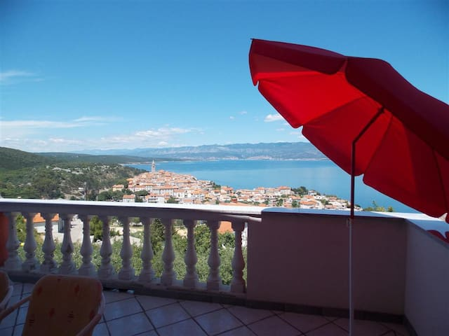 Apartment Nina,amazing view! - Vrbnik - Appartement