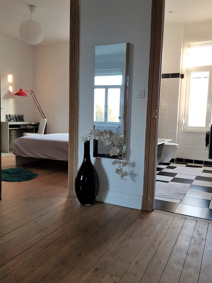 Étage privatif indépendant40 m2+ SDB Valenciennes