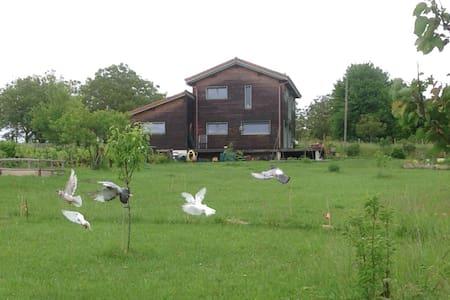 Maison écologique en Périgord vert. - Brantôme - Lepianka