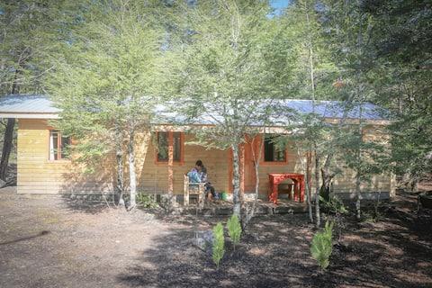 LLaima Camp, cabaña cerca del Parque Conguillío