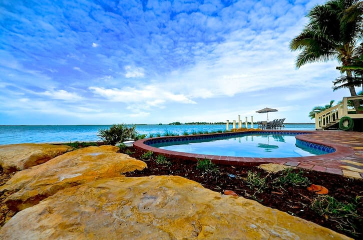Water Front Masterpiece - Key West! - Cayo Hueso - Casa