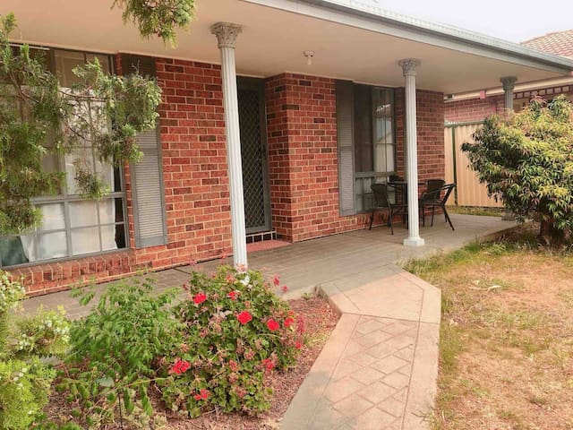 Comfortable and peaceful 3 bedroom house