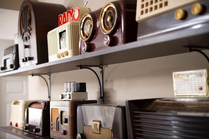 Vintage radio collection